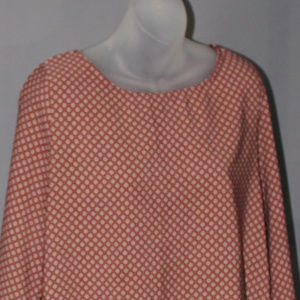 Vanilla Bay boho top, size L, long sleeves, used